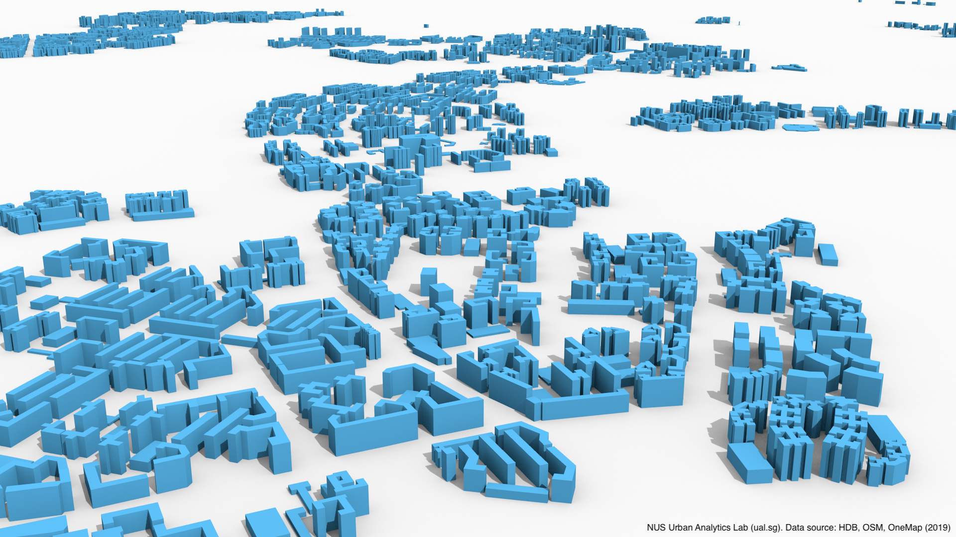 Release of 3D building open data of HDBs in Singapore | Urban Analytics Lab, Singapore