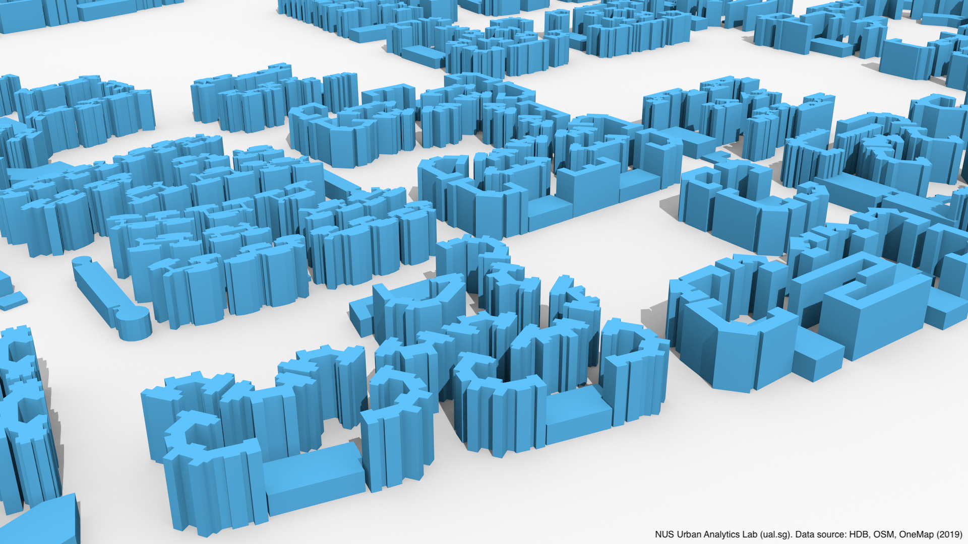 Release of 3D building open data of HDBs in Singapore   Urban Analytics Lab, Singapore